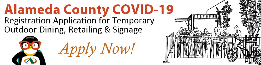 COVID-19 Temporary Outdoor Activity web page