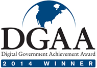 2014 Digital Government Achievement Award Winner