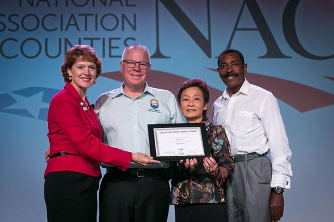NACO award luncheon