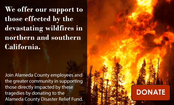 Alameda County Disaster Relief Fund -- for California wildfire victims