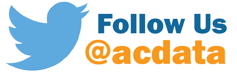 Follow us on Twitter @acdata